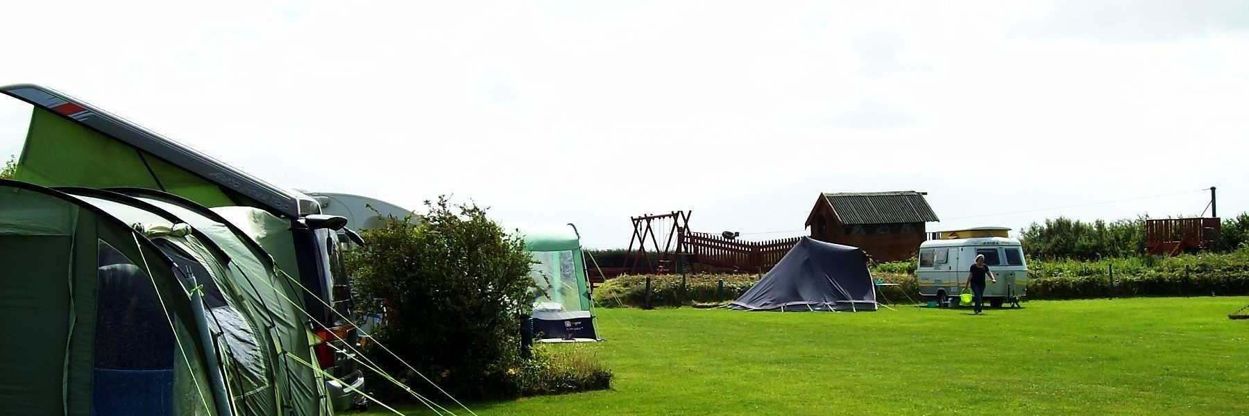 Edmore Park for tents and caravans in Beautiful Cornwall